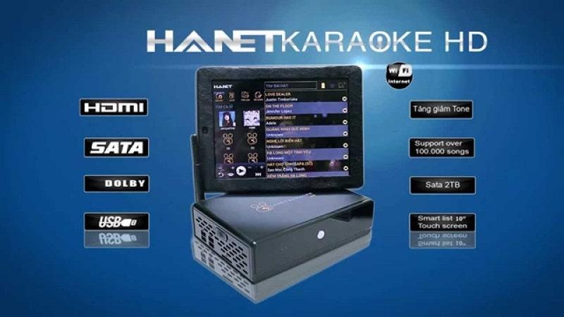 Đầu karaoke HANET HD10S tính năng