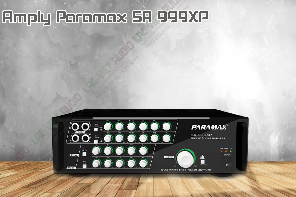 Giới thiệu về sản phẩmamply paramax sa 999xp