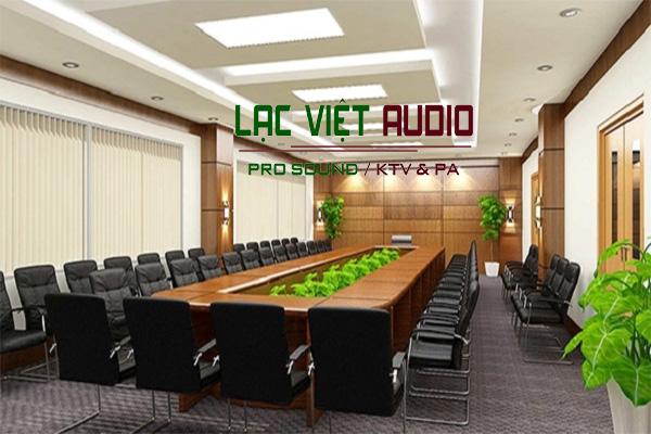Hệ thống âm thanh phòng họp tiêu chuẩn