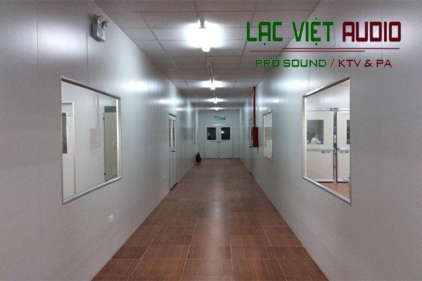 Âm thanh thông báo hành lang bệnh viện