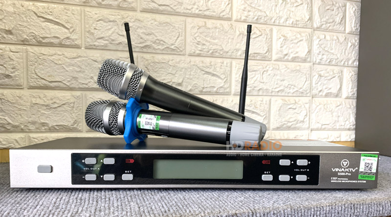 micro không dâyVinaKTV S500 Pro