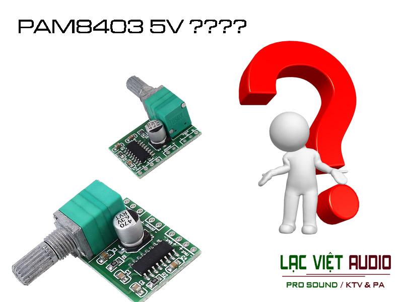 Giới thiệu mạch khuếch đại âm thanh dùng nguồn 5v nổi bật hiện nay trên thị trường