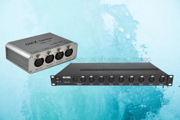 2 loại bộ chia tín hiệu DMX- Lạc Việt Audio