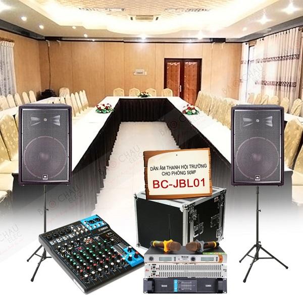 Hệ thống thiết bị âm thanh hội trường