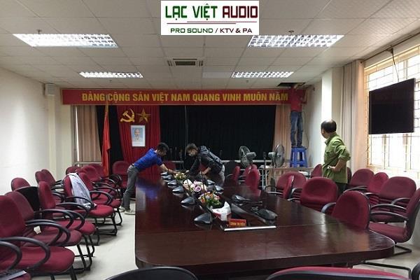 Lắp dàn âm thanh cho chi cục thuế TP Bắc Ninh
