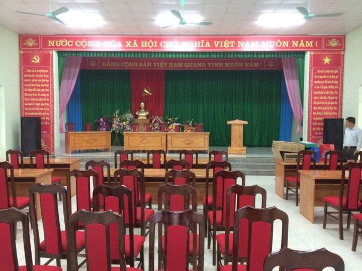 Hội trường xã Mường Mìn
