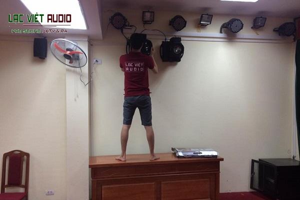 Lạc Việt Audio lắp đặt thiết bị âm thanh