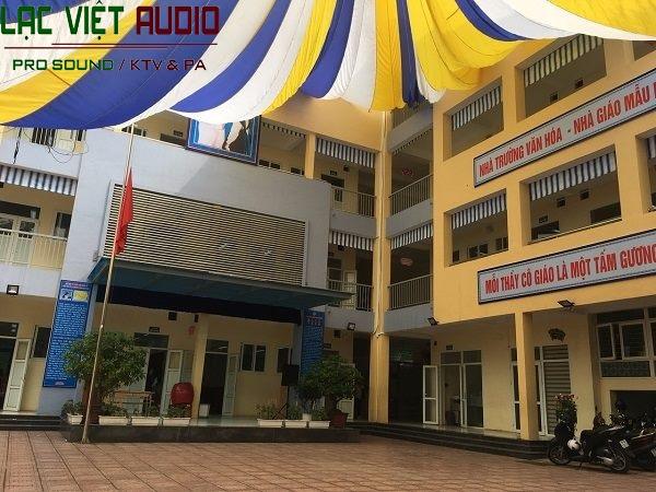 Trường THCS Tây Sơn địa chỉ tạiĐường Trần Nhân Tông - Hà Nội