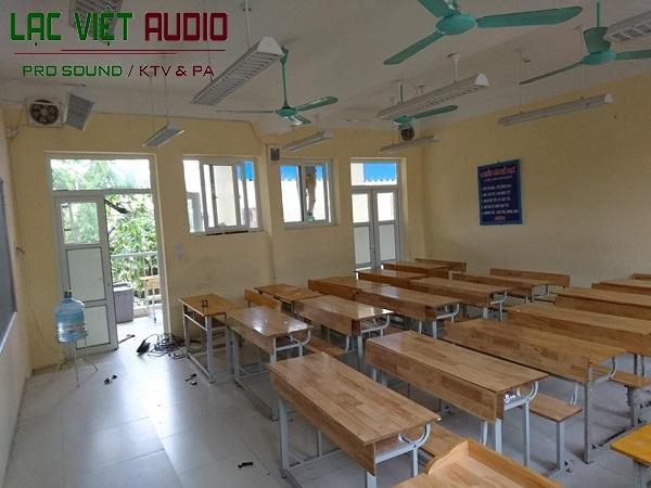 Hệ thống loa trong các phòng học