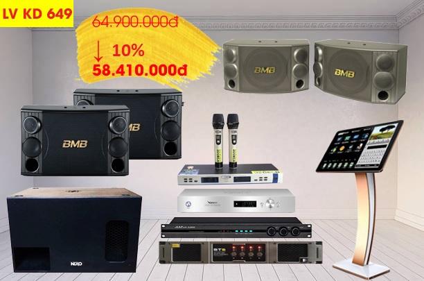 Dàn karaoke LV KD649 chiết khấu đến 10%