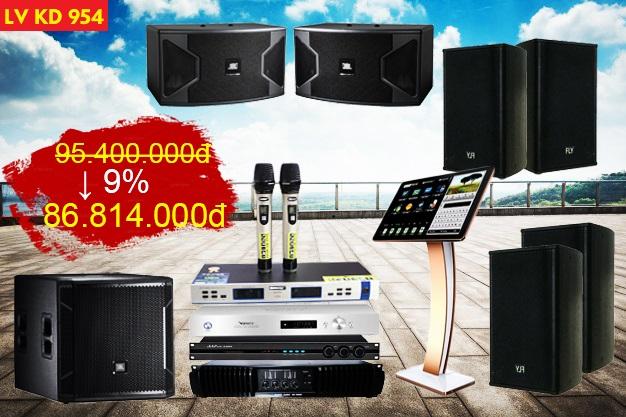 Dàn karaoke kinh doanh LV KD954