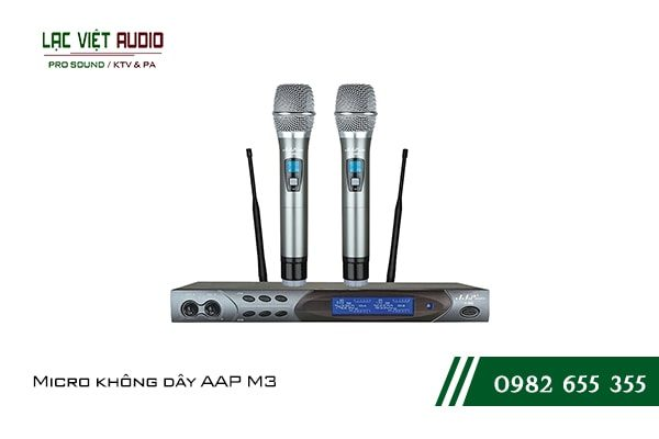 Giới thiệu về sản phẩmMicro không dây AAP M3