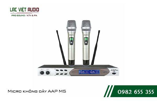 Giới thiệu về sản phẩmMicro không dây AAP M5