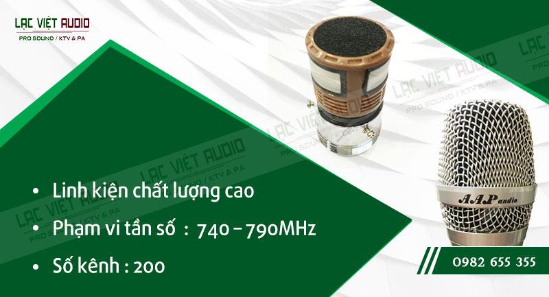 Các đặc điểm nổi bật của sản phẩmMicro không dây AAP M5