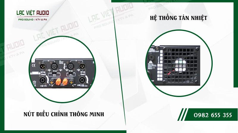 Các đặc điểm nổi bật của sản phẩmCục đẩy công suất AAP P2600