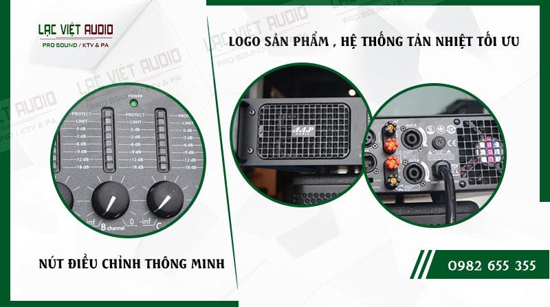 Các đặc điểm nổi bật của sản phẩmCục đẩy công suất AAP P4800