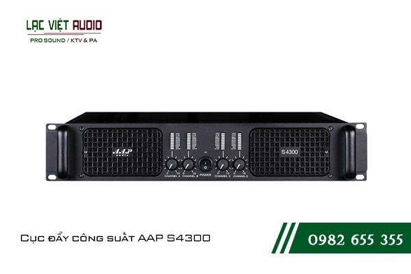 Giới thiệu về sản phẩmCục đẩy công suất AAP S4300