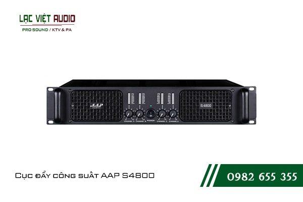 Giới thiệu về sản phẩmCục đẩy công suất AAP S4800