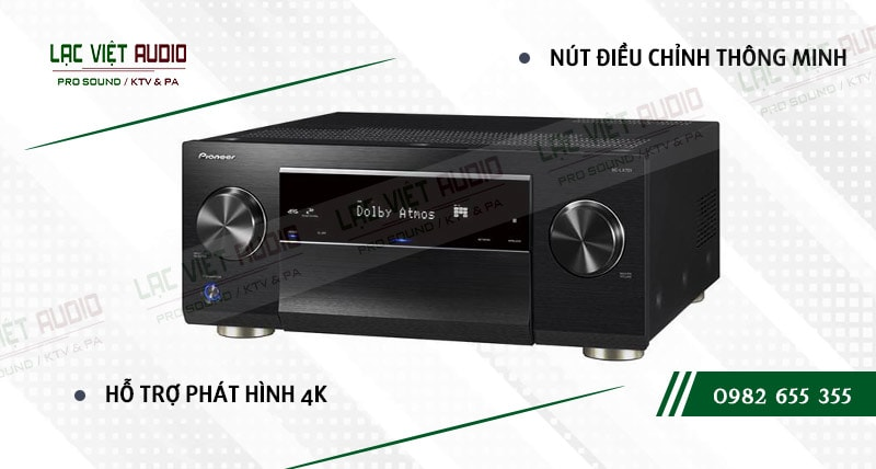 Các đặc điểm nổi bật của sản phẩmAMPLY AV HI-END 4K 9.2 PIONEER SC LX701