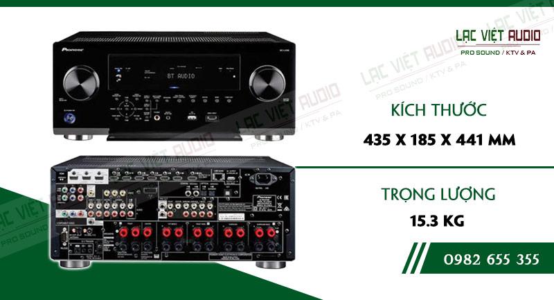 Các linh kiện bên trong AMPLY AV HI-END 4K 9.2 PIONEER SC LX701 chất lượng, được kiểm tra nghiêm ngặt