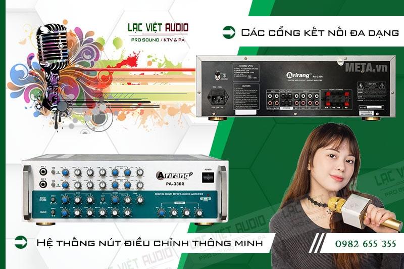Các đặc điểm nổi bật của sản phẩmamply karaoke arirang PA-330R