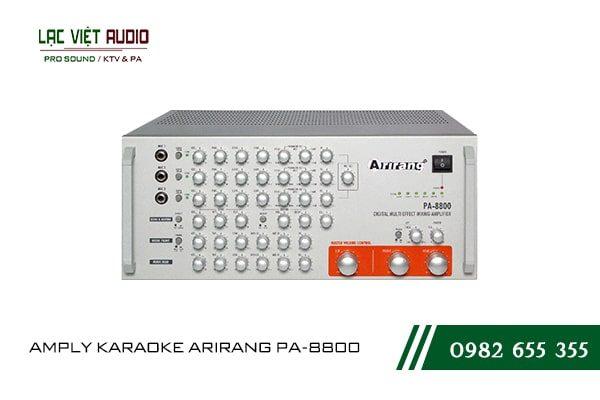 Giới thiệu về thiết bị AMPLY KARAOKE ARIRANG PA-8800