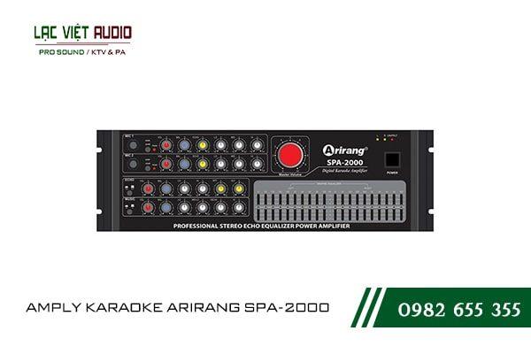 Giới thiệu về thiết bị amply karaoke arirang SPA-2000