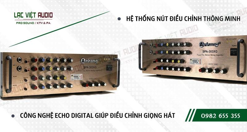 Các đặc điểm nổi bật của sản phẩmAMPLY KARAOKE ARIRANG SPA-303XG