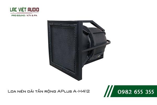 Giới thiệu về sản phẩm Loa nén dải tần rộng APlus A H412