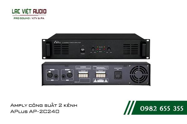 Giới thiệu về sản phẩmAmply công suất 2 kênh APlus AP 2C240