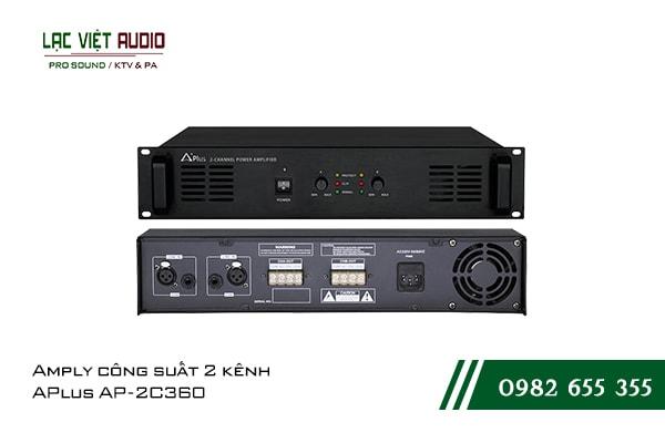 Giới thiệu về sản phẩmAmply công suất 2 kênh APlus AP 2C360