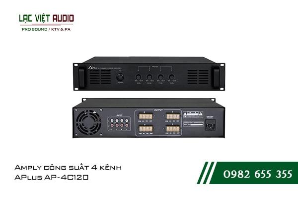 Giới thiệu về sản phẩmAmply công suất 4 kênh APlus AP 4C120