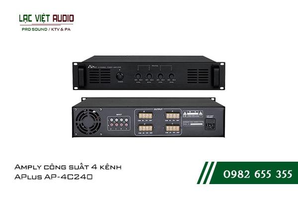 Giới thiệu về sản phẩmAmply công suất 4 kênh APlus AP 4C240