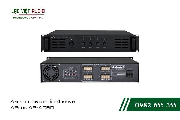 Giới thiệu về sản phẩmAmply công suất 4 kênh APlus AP 4C60