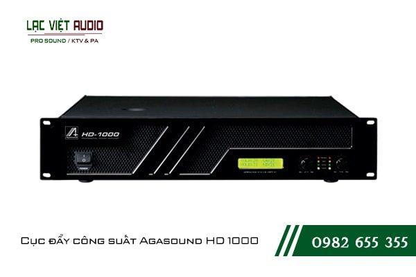 Giới thiệu về sản phẩm Cục đẩy công suất Agasound HD 1000