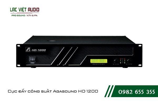 Giới thiệu về sản phẩm Cục đẩy công suất Agasound HD 1200