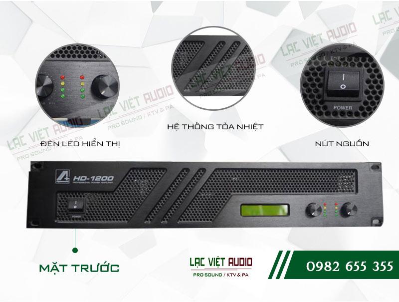 Các tính năng nổi bật và tối ưu nhất của sản phẩm Cục đẩy công suất Agasound HD 1200