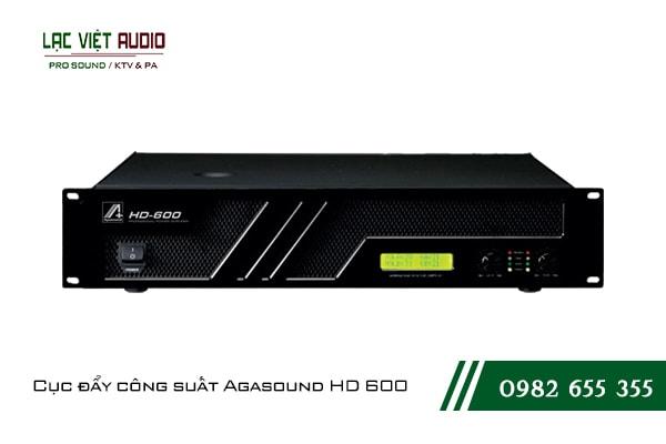 Giới thiệu về sản phẩm Cục đẩy công suất Agasound HD 600