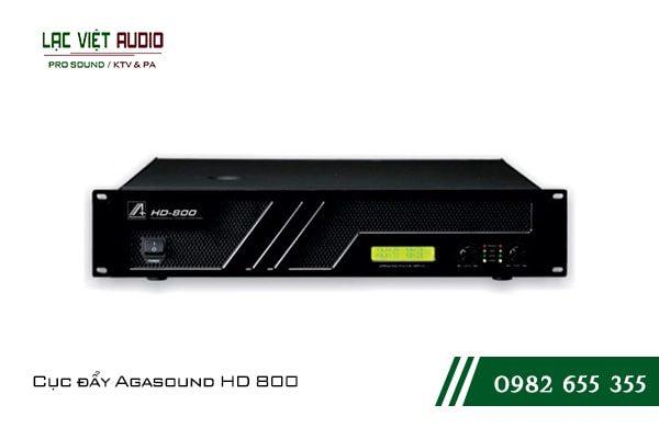 Giới thiệu về sản phẩm Cục đẩy Agasound HD 800