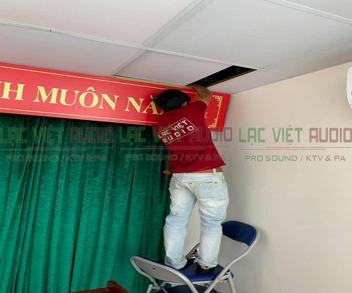 Lạc Việt Audio lắp đặt loa phòng họp