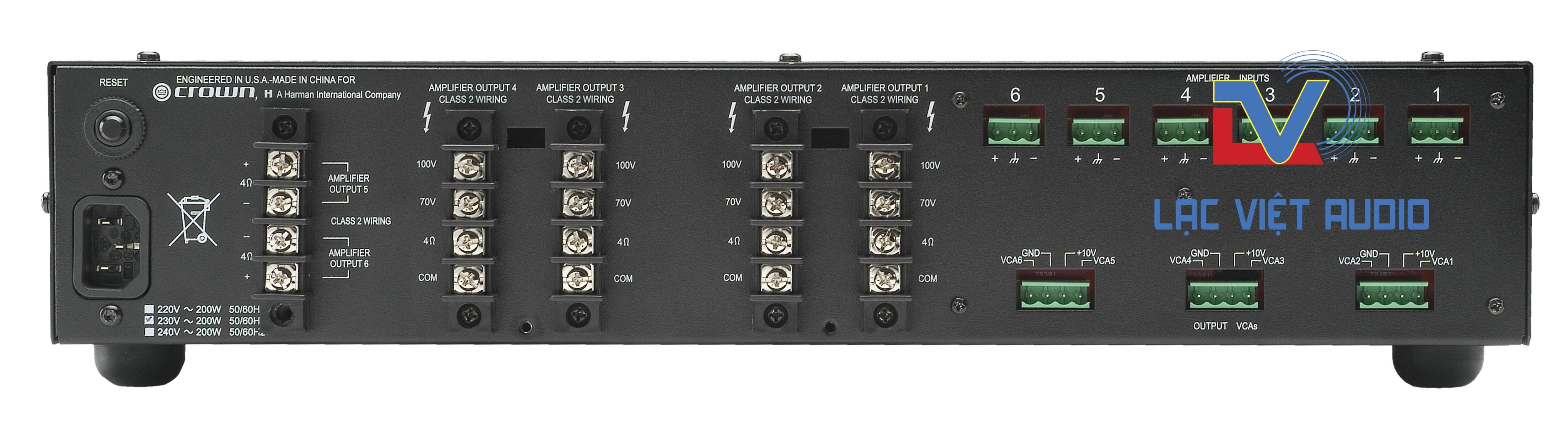 Ampli Crow 660A