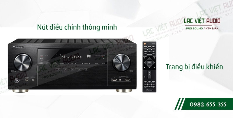 Các đặc điểm nổi bật của sản phẩmAmpli đa kênh Pioneer VSX LX303