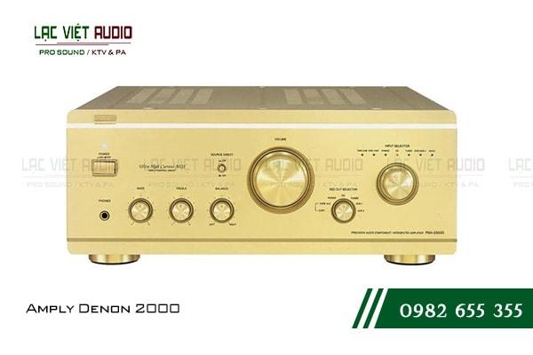 Amply Denon 2000