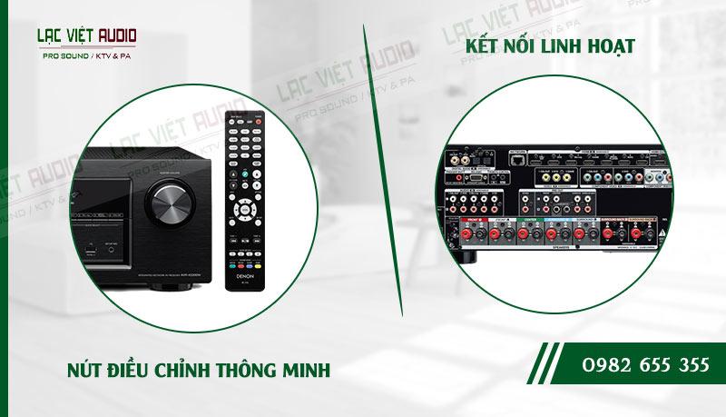 Các đặc điểm nổi bật của sản phẩmAmply Denon AVR X2200W