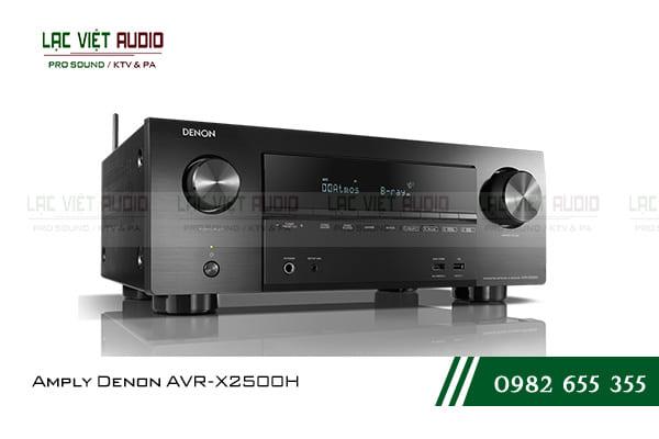 Amply Denon AVR-X2500H BKE2