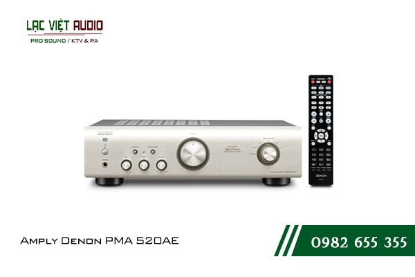 Một số giới thiệu tổng quan về sản phẩmAmply Denon PMA 520AE