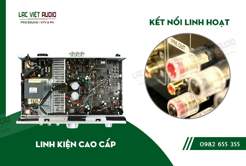 Các đặc điểm nổi bật của sản phẩmAmply Denon PMA 720AE