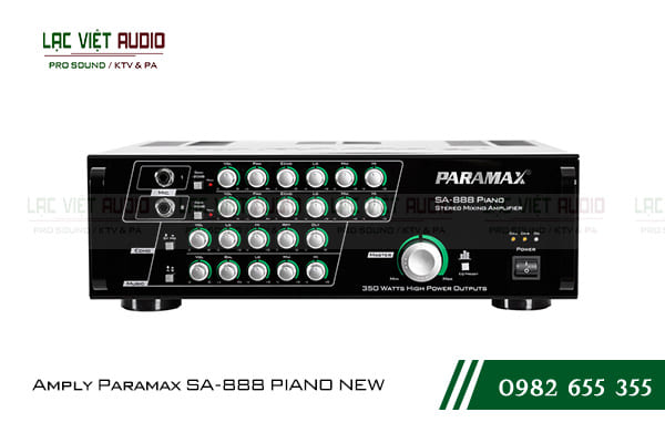 Amply Paramax SA-888 PIANO NEW