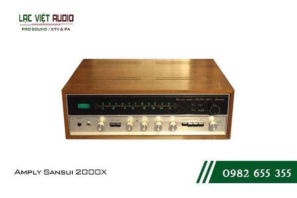 Giới thiệu về sản phẩmAmply Sansui 2000X