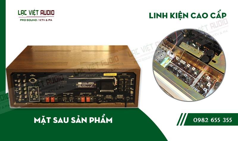 Thiết kế bên ngoài hiện đại và sang trọng củaAmply Sansui 2000X